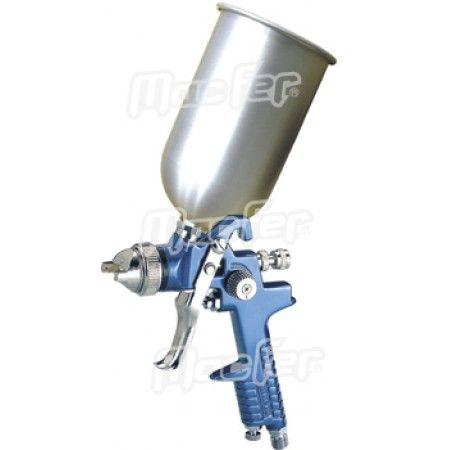 Pistola pint. gravidade copo alu. MacFer H-827-A 2,5mm ref. 130.0033 MACFER