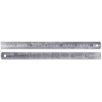 Escala c/ conversão inox MacFer EMC-I   300x25x1,2mm ref. 139.0001 MACFER