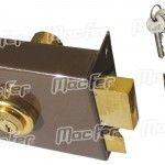 Fechadura pregar á face ch. normal MacFer DR720 120mm Dta ref. 140.0062 MACFER