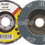 Disco lam. p/ inox MacFer FSS 115x22,2mm   ZA60 ref. 165.0036 MACFER