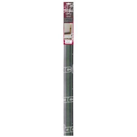 Veda portas alumínio borracha mf AR09-03   900mm castanho ref. 178.0013 MACFER