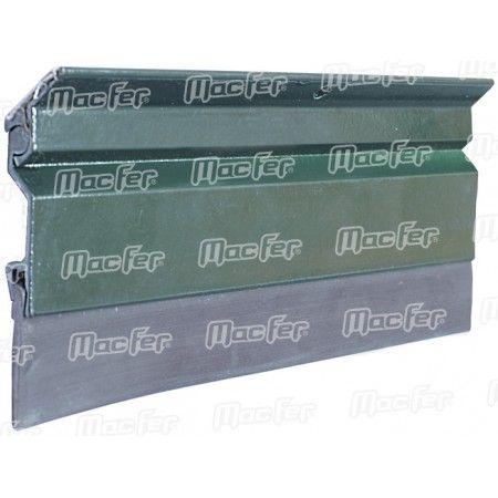 Veda portas alumínio borracha mf AR12-01 1200mm alumínio ref. 178.0021 MACFER