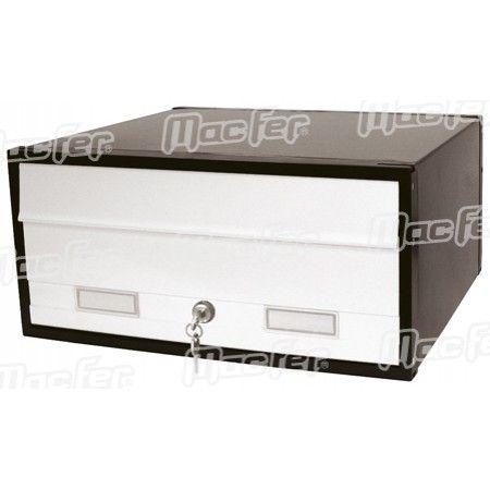 Caixa correio grande simples  PB01W branca ref. 179.0001 MACFER