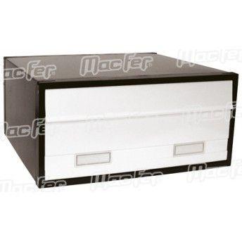 Caixa correio grande dupla  PB02W branca ref. 179.0011 MACFER
