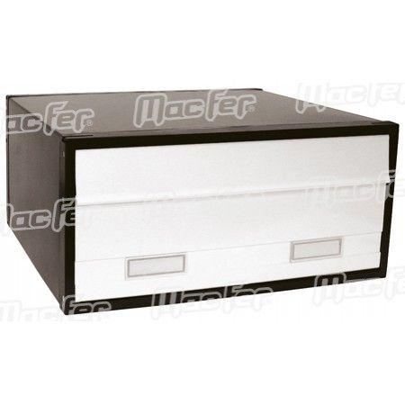 Caixa correio grande dupla  PB02G verde ref. 179.0012 MACFER