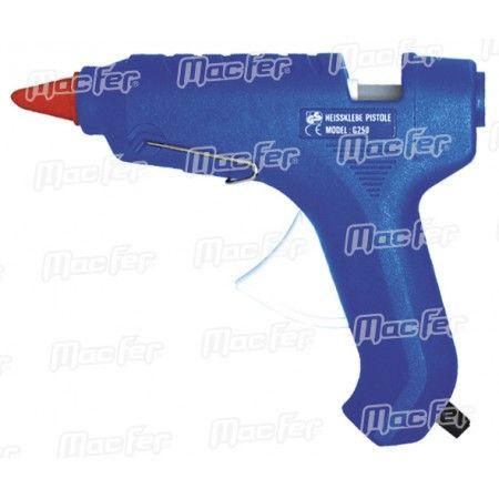 Pistola cola termofusível MacFer G-250 55W 11mm ref. 181.0001 MACFER