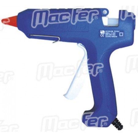 Pistola cola termofusível MacFer K-600 60W 11mm ref. 181.0005 MACFER