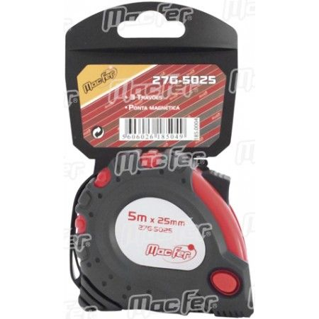 Fita métrica MacFer 27G-  5025   5m 25mm ref. 185.0004 MACFER
