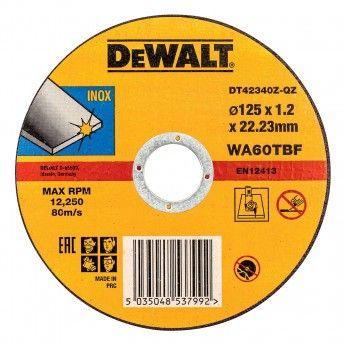 DISCO INOX 125X1.2 DT42340Z-QZ DEWALT