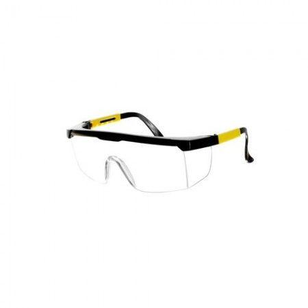 Óculos prot. MacFer QB1207-TC trans. (armação tricolor) ref. 017.0016 MACFER